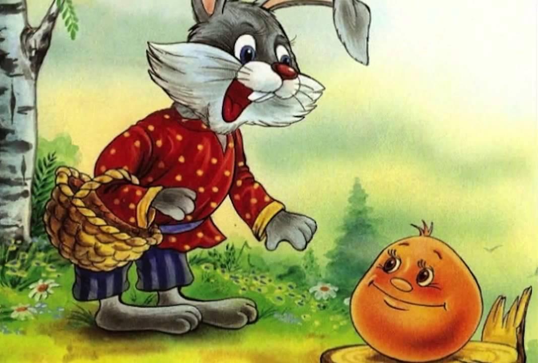 Сказка «Колобок» для детей