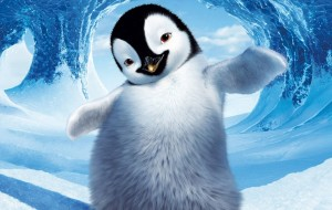 Аппликация «Веселый пингвин» из цветной бумаги