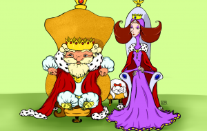 Виктор Пахомов. Сказка-небылица «Про царя и про царицу»