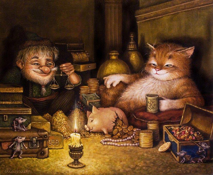 Сказка про рыжего кота