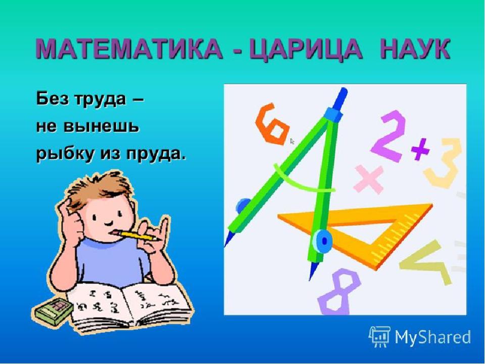 Стихи про математику