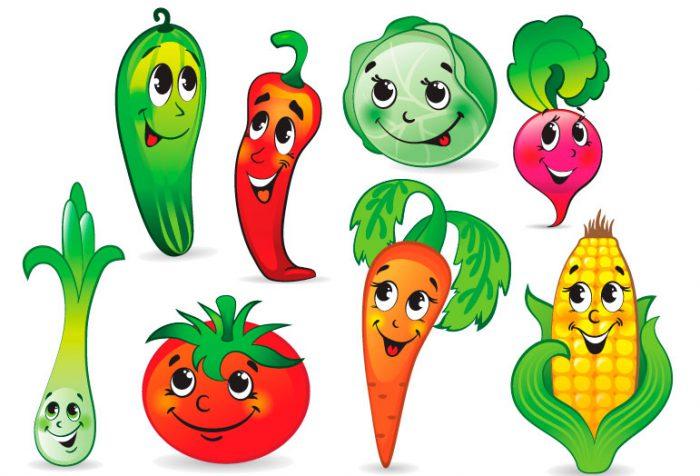 Поделки из овощей для детского сада
