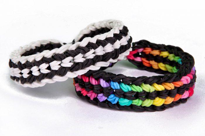 Схемы плетения браслетов из резиночек