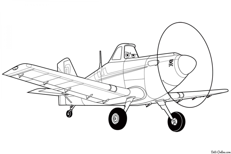Раскраска Самолеты