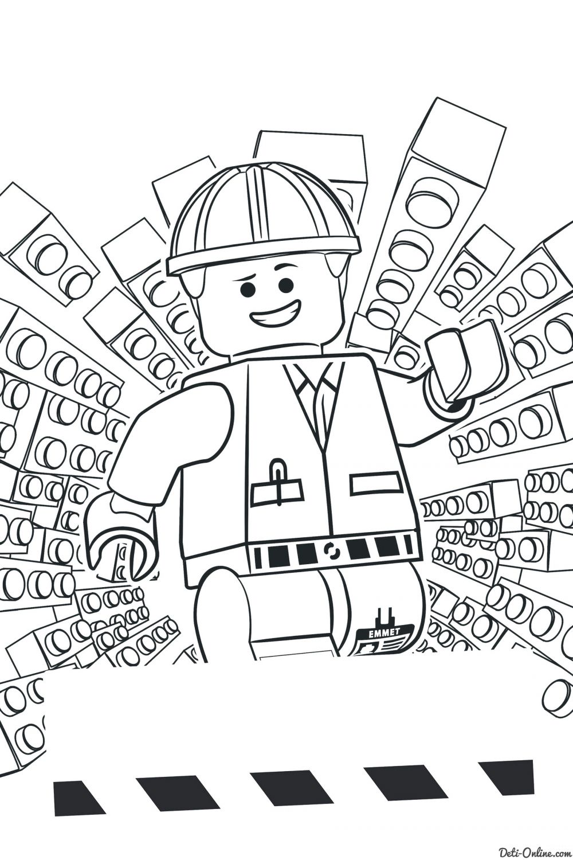 Раскраска Лего. Фильм
